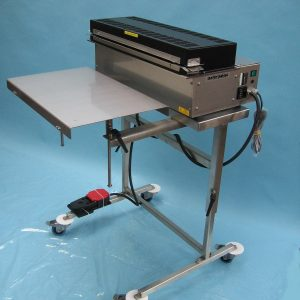 Heavy Duty Constant Heat Jaw Sealers for paper /foil coated pouches