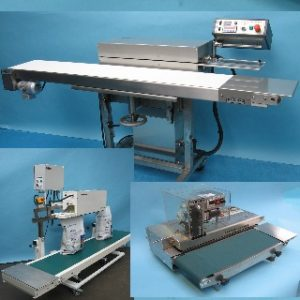 Continuous Sealers Suitable for Plastics, co-extrudes & Lighter Gauge Laminates